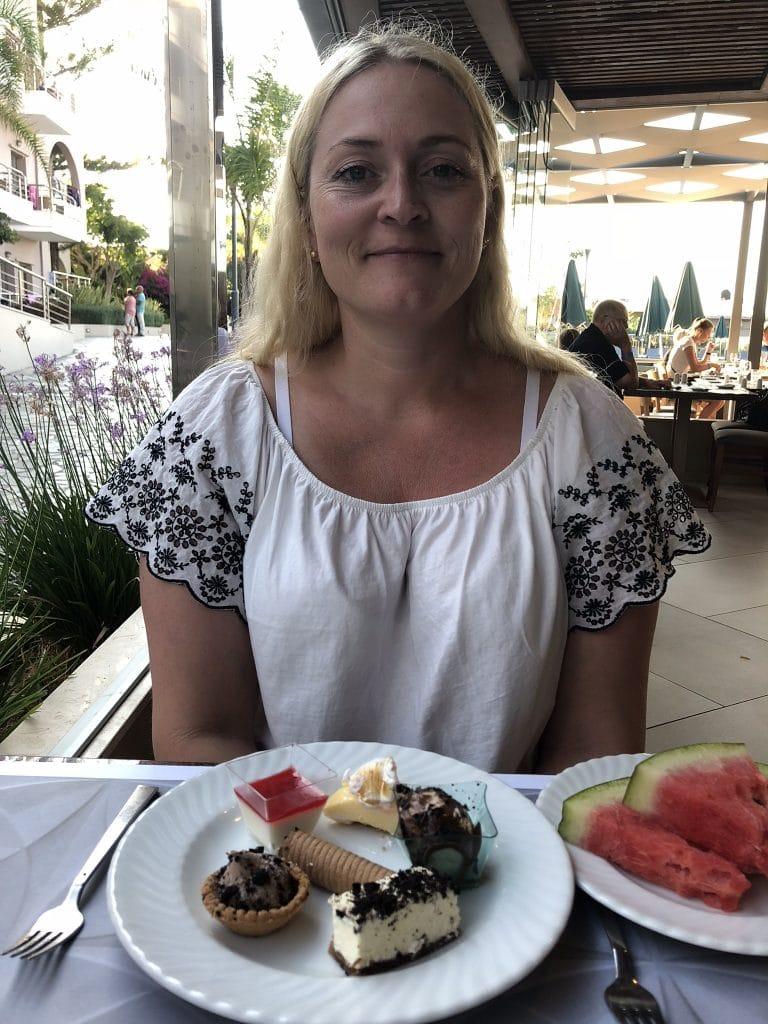 Blondinebloggeren liker søtsaker
