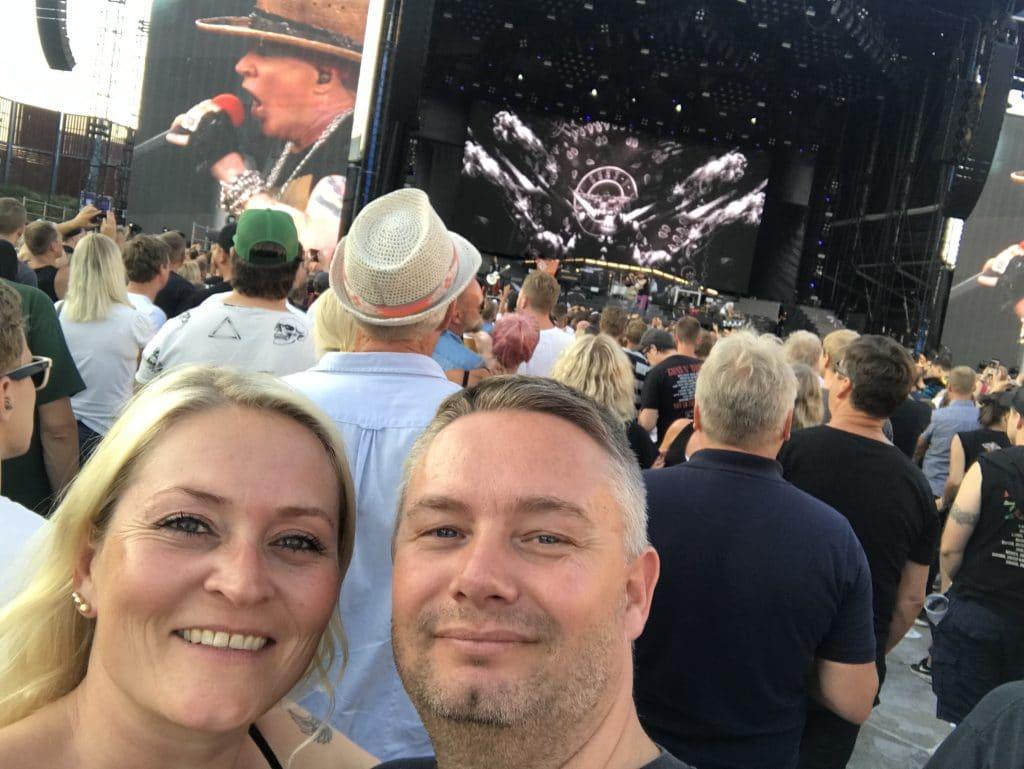 Guns N' Roses konsert