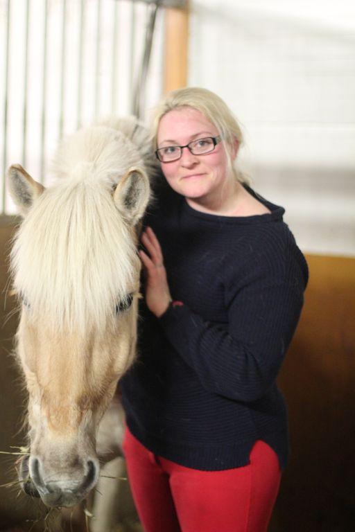 Lykkelig hesteeier