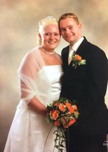 Blondebryllup - 13 års bryllupsdag