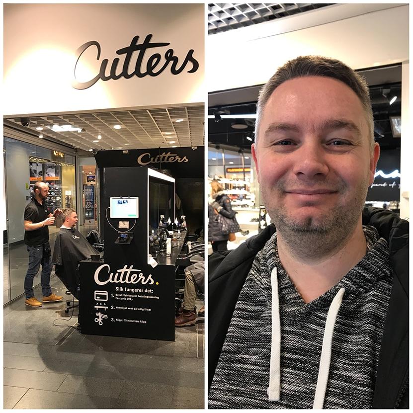 Fornøyd etter klipp på Cutters