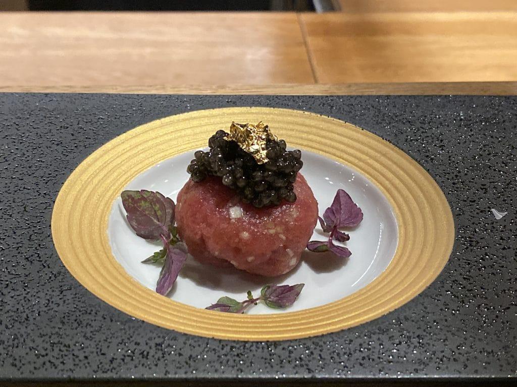 Tartar av tunfisk