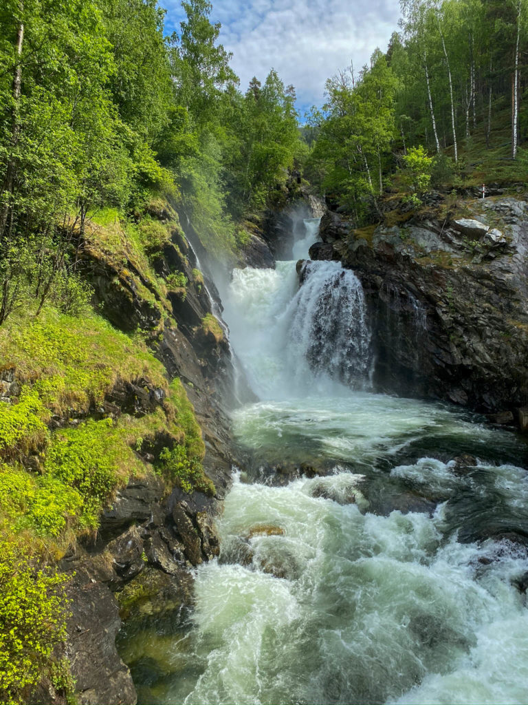 Fossefall i Sel kommune