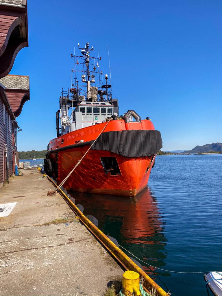 Mye fine båter i  Florø