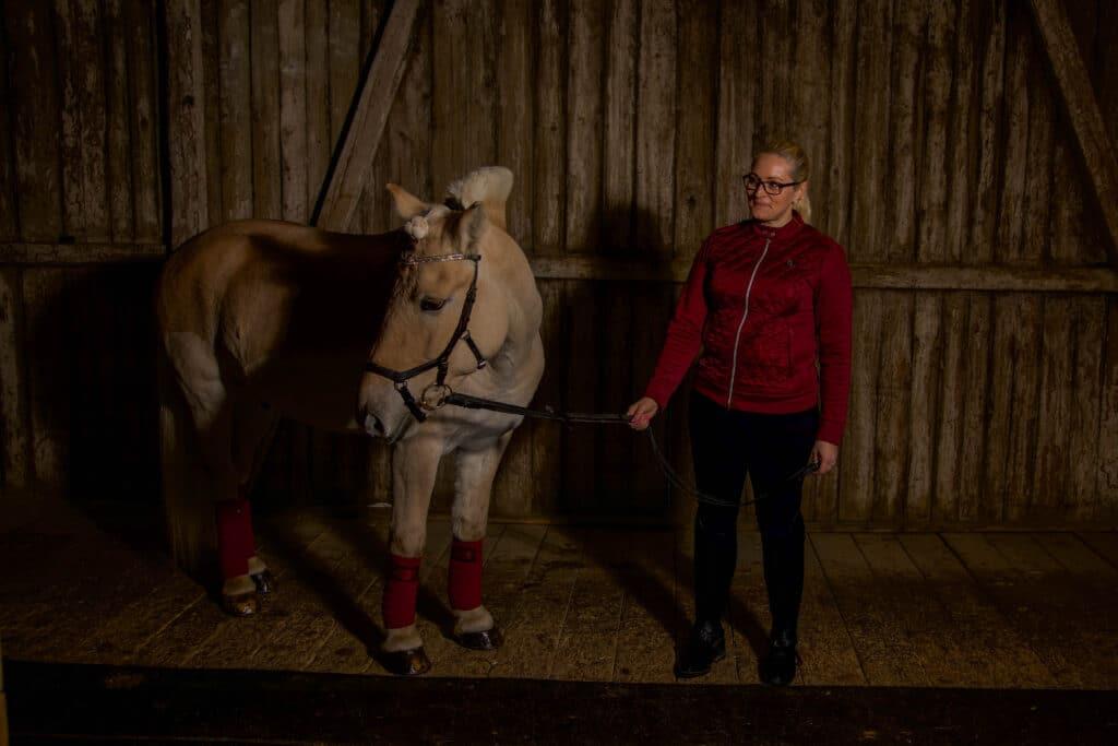 Fotoshoot med hest i PS of Sweden