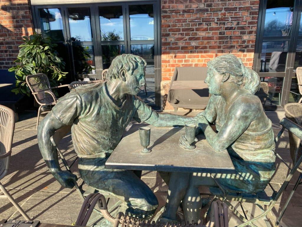 Kunstverk på Aker Brygge